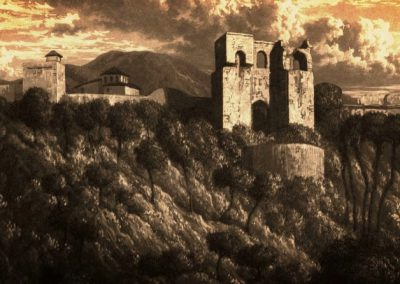 Washington Irving, Patronato de la Alhambra