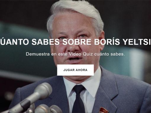 ¿Cuánto sabes sobre Boris Yeltsin?